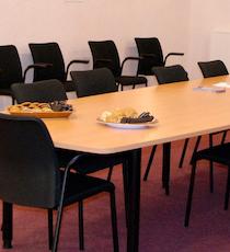 Menighedsrådsmøde.